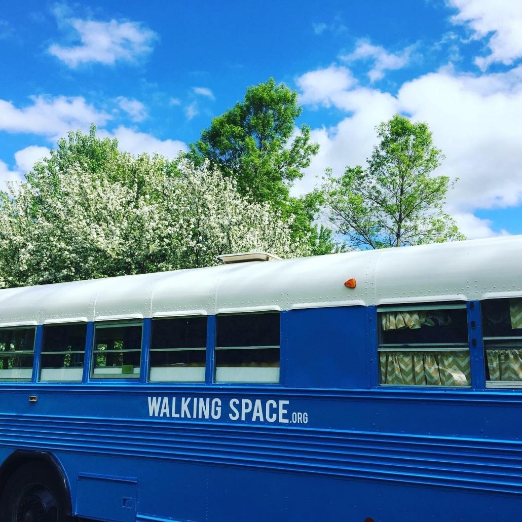 Walking Space Bunk Bus