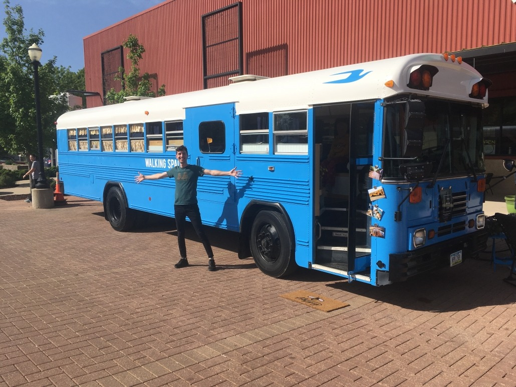 The Bunk Bus at Newbo in Cedar Rapids