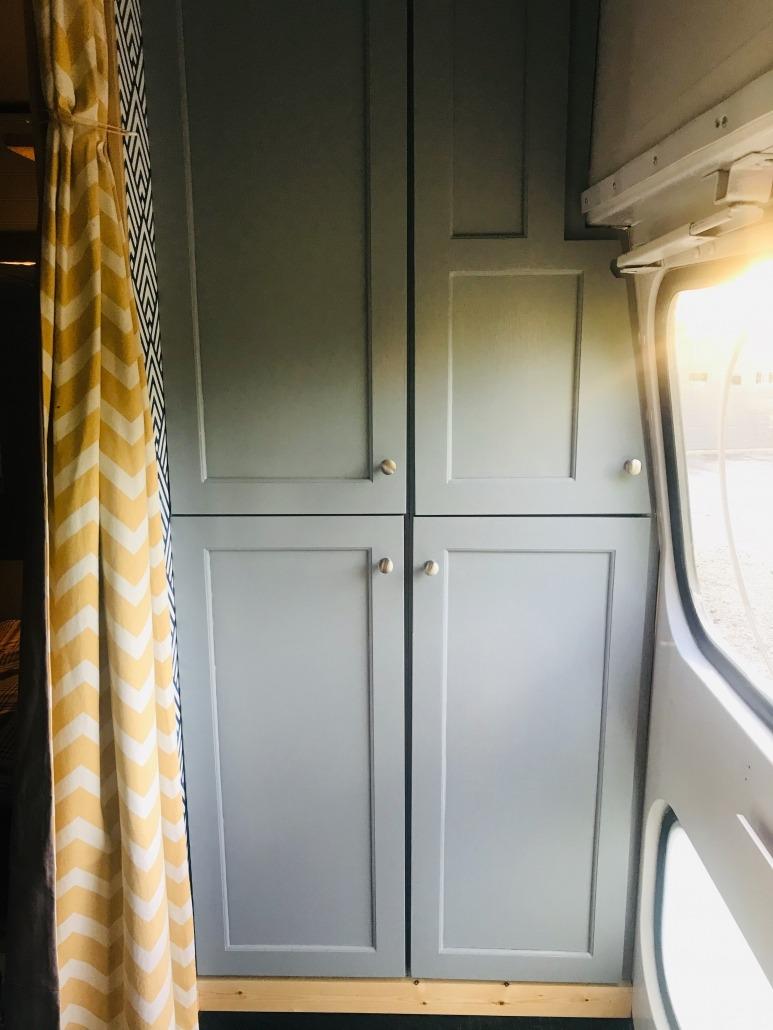 Bunk Bus cabinets